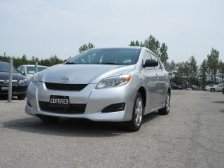 Used 2009 Toyota Matrix AUTO / AC / POWER WINDOWS for sale in Newmarket, ON