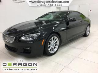Used 2015 BMW 6 Series 650i Xdrive + M Sport for sale in Cowansville, QC