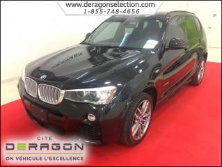 Used 2015 BMW X3 Xdrive28i + M Pack for sale in Cowansville, QC