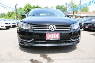 Used 2014 Volkswagen Passat Trendline HEATED SEATS ALLOYS ACCIDENT FREE for sale in Brampton, ON