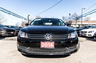 Used 2014 Volkswagen Passat Comfortline LEATHER SUNROOF ACCIDENT FREE for sale in Brampton, ON