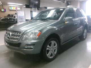 Used 2011 Mercedes-Benz ML 350 DIESEL/NAVIGATION/LEATHER/REAR CAM/BLUETOOTH for sale in Oakville, ON