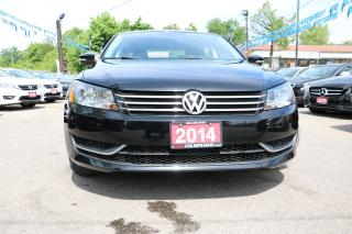 Used 2014 Volkswagen Passat Trendline HEATED SEATS ALLOYS ACCIDENT FREE for sale in Brampton, ON