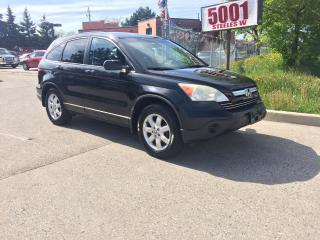 Used 2007 Honda CR-V AWD,LEATHER,ROOF,MAGS,SAFETY+3YEARS WARANTY INCLUD for sale in North York, ON