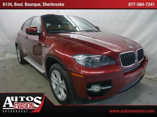 Used 2008 BMW X6 Xdrive35i + Cuir + Toit for sale in Sherbrooke, QC