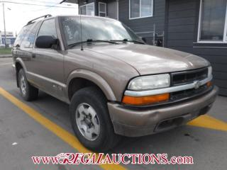 Used 2003 Chevrolet BLAZER LS 2D UTILITY 4X4 for sale in Calgary, AB