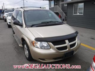 Used 2001 Dodge GRAND CARAVAN SPORT 4D WAGON for sale in Calgary, AB