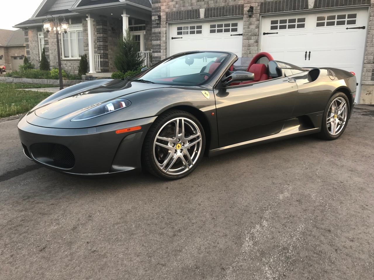 Photo of Gray 2007 Ferrari F430 F430 Spider