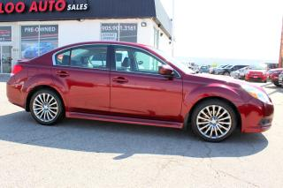 Used 2012 Subaru Legacy 2.5 GT LIMITED AWD TURBO MANUAL NAVIGATION CERTIFIED 2YR for sale in Milton, ON