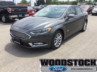Used 2017 Ford Fusion Energi SE Luxury Driver Assist Package for sale in Woodstock, ON