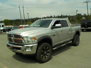 Used 2011 Dodge Ram 2500 Laramie Crew Cab Short Box Diesel 4WD for sale in Burnaby, BC