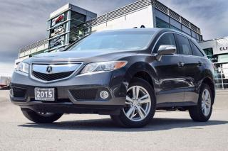 Used 2015 Acura RDX Tech at Accident Free| Navigation| Back-Up Camera for sale in Thornhill, ON