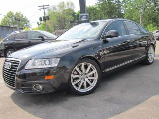 Used 2010 Audi A6 3.0 ~ S-LINE QUATTRO ~ SUNROOF ~ BACK UP CAM !!! for sale in Burlington, ON