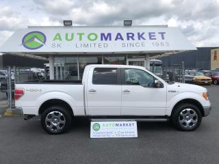 Used 2012 Ford F-150 LARIAT 6.5-ft. Bed LEATHER! WARRANTY! for sale in Langley, BC