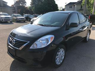 Used 2014 Nissan Versa No Accident/Certified/Warranty Included for sale in Cambridge, ON