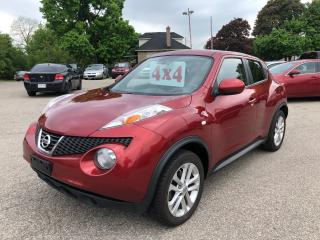 Used 2011 Nissan Juke SV/4WD/NO ACCIDENT/CERTIFIED/WARRANTY INCLUDED for sale in Cambridge, ON