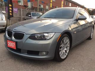 Used 2007 BMW 3 Series 328xi/AWD/Bluetooth/Roof/Alloys/Leather Seats for sale in Scarborough, ON