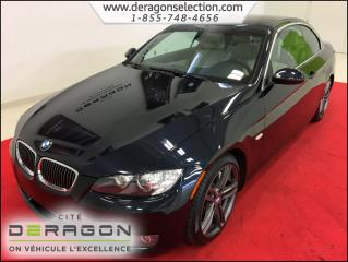 Used 2008 BMW 3 Series 335i + Convertible for sale in Cowansville, QC
