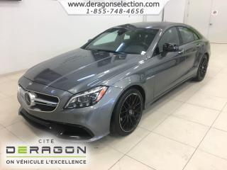 Used 2017 Mercedes-Benz CLS 63 AMG 63 Amg S + Awd for sale in Cowansville, QC