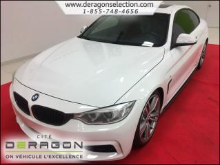 Used 2014 BMW 4 Series 435i + Xdrive + M Pack for sale in Cowansville, QC