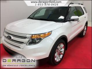Used 2014 Ford Explorer Ltd + Gps + Tech for sale in Cowansville, QC