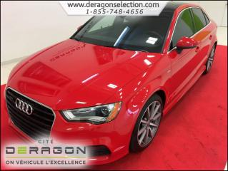 Used 2015 Audi A3 Progressiv + S-Line for sale in Cowansville, QC