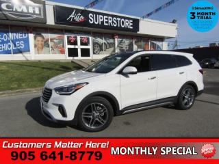 Used 2017 Hyundai Santa Fe XL Ultimate  AWD ADAP-CC LD COOLED-SEATS NAV PANO-ROOF for sale in St. Catharines, ON