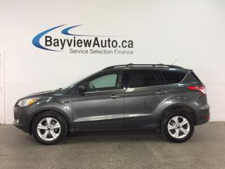Used 2015 Ford Escape SE - ECOBOOST! SUNROOF! HTD LTHR! DUAL CLIMATE! SYNC! for sale in Belleville, ON