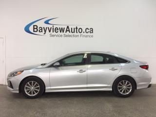 Used 2018 Hyundai Sonata - ALLOYS! HTD STS! REV CAM! BSD! CRUISE! for sale in Belleville, ON