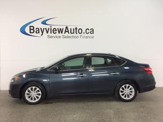 Used 2017 Nissan Sentra 1.8 S - PUSH START! SUNROOF! BLUETOOTH! REV CAM! for sale in Belleville, ON
