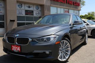 Used 2014 BMW 328 i xDrive Luxury Line. Navi. Cam. Head Up Dislay for sale in North York, ON