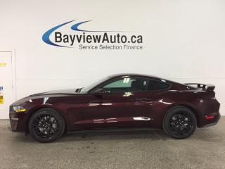 Used 2018 Ford Mustang EcoBoost - ALLOYS! REVERSE CAM! SYNC! CRUISE! for sale in Belleville, ON