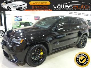 Used 2018 Jeep Grand Cherokee TRACKHAWK  DIAMOND BLACK for sale in Woodbridge, ON