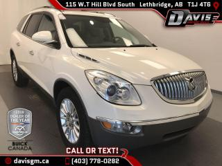 Used 2011 Buick Enclave CXL AWD, 7 PASSENGER, HEATED/COOLED LEATHER for sale in Lethbridge, AB