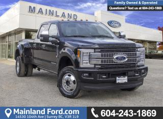 New 2018 Ford F-350 Platinum for sale in Surrey, BC