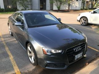 Used 2013 Audi A5 S-LINE for sale in Oakville, ON