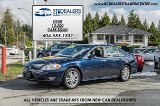 Used 2010 Chevrolet Impala LTZ Sedan, Leather, Sunroof, Heated Seats, Clean! for sale in Surrey, BC