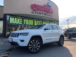 Used 2018 Jeep Grand Cherokee Limited PANO ROOF NAVI R-CAM MEMORY SEATS TOW PKG for sale in Scarborough, ON