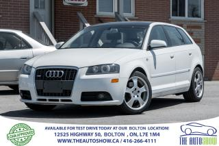Used 2007 Audi A3 2.0T S-TRONIC S-LINE SPORTS PKG NEW TIRES + BRAKES for sale in Caledon, ON