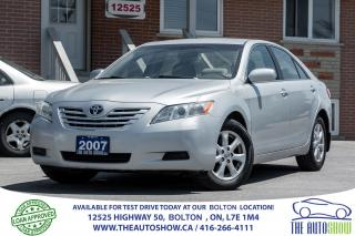 Used 2007 Toyota Camry 2.4L ALLOYS 1 OWNER NEW TIRES TOYOTA SERVICED for sale in Caledon, ON
