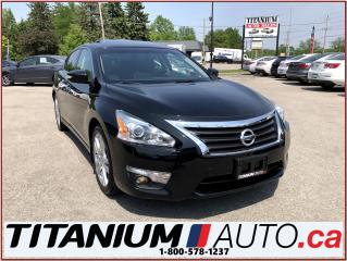 Used 2014 Nissan Altima 3.5 SL+Camera+GPS+Leather+Blind & Lane Warning+Sun for sale in London, ON