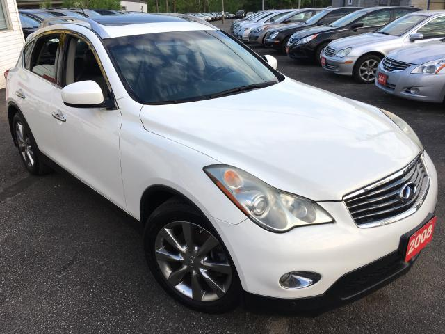 2008 Infiniti EX35 AUTO/LEATHER/SUNROOF/ALLOYS/AWD/FOGS/HEATED SEATS!