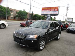 Used 2012 BMW X3 28i for sale in Scarborough, ON
