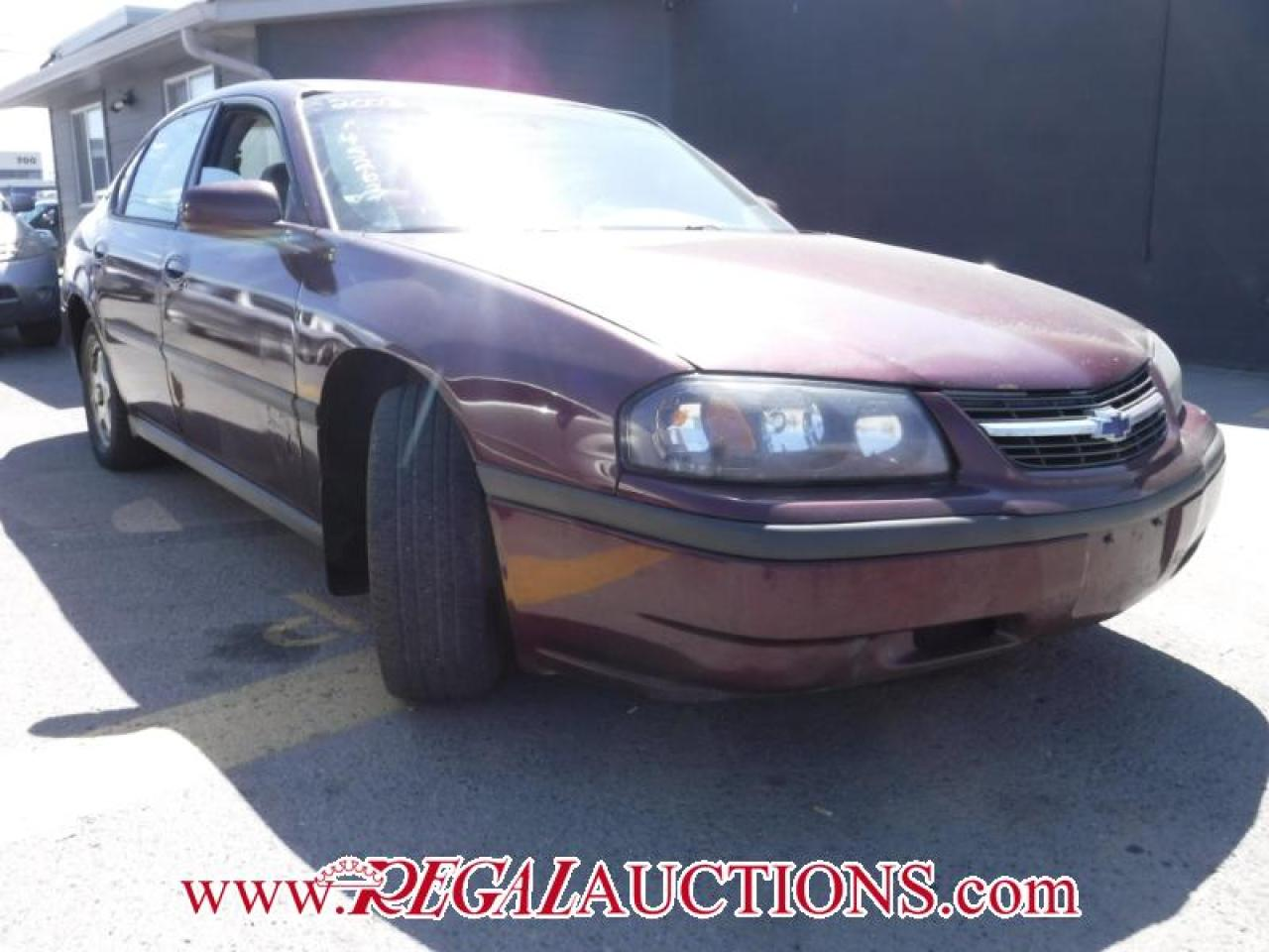 Photo of Red 2003 Chevrolet IMPALA BASE 4D SEDAN