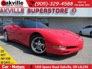 Used 2001 Chevrolet Corvette CONVERTIBLE | ONLY  40497 KM !!| COLLECTOR CAR | for sale in Oakville, ON