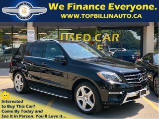 Used 2015 Mercedes-Benz ML-Class ML350 BlueTEC 4MATIC AMG SPORTS PACKAGE for sale in Concord, ON