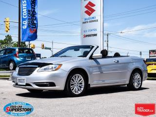 Used 2011 Chrysler 200 Touring Convertible ~Low KM ~Heated Seats for sale in Barrie, ON