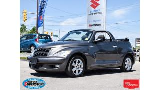 Used 2005 Chrysler PT Cruiser TOURING CONVERTIBLE for sale in Barrie, ON