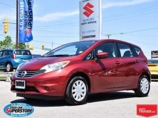 Used 2016 Nissan Versa Note SV ~5.0 Touchscreen ~RearView Camera ~Affordable for sale in Barrie, ON
