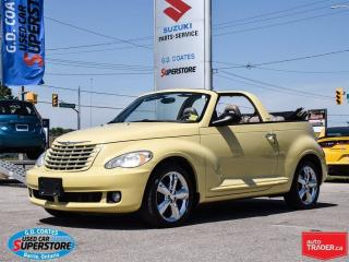 Used 2007 Chrysler PT Cruiser Touring Convertible ~Low Mileage ~Very Clean for sale in Barrie, ON